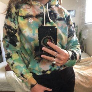 🌞 Big Bud Press tiedye magic water rainbow hoodie